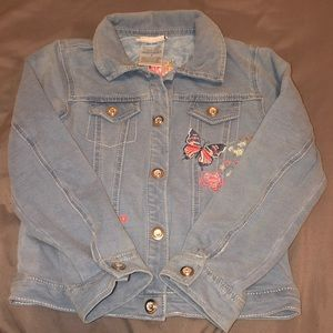 Little girls jean jacket size 5